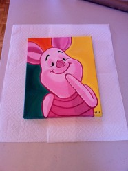 Piglet Painting