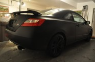 Matte Black Honda Civic