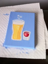 Drinks Series Paintings
