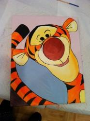 Tigger Painting