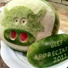 Watermelon Cow Carving