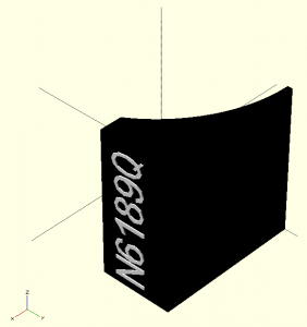 OpenSCAD Rendering with Colors