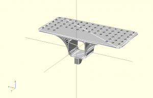 Refined 3D model for second prototype